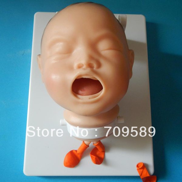 ISO Economic Newborn Baby Intubation Training Model, Intubation mannequin iso economic newborn baby intubation training model intubation trainer
