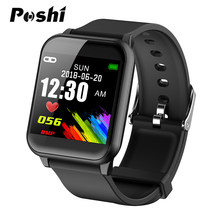 Newest Bluetooth Fitness Smart Watch Custom Background Weather Forecast Clock Calorie Pedometer Sport Watch Waterproof Men Women(China)