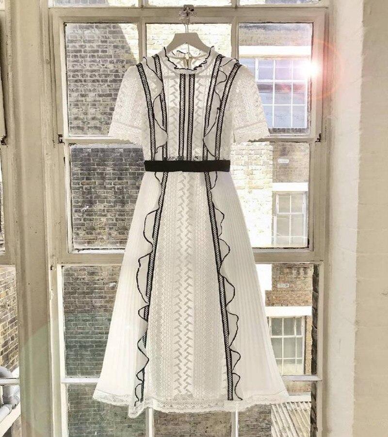2019 Nuovo arriva abito bianco di alta qualità-in Abiti da Abbigliamento da donna su  Gruppo 3