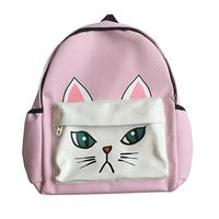 Girls Backpack Lovely Cat Panda Dog Women Backpacks School Bags High Quality Mochila Feminina Female Woman