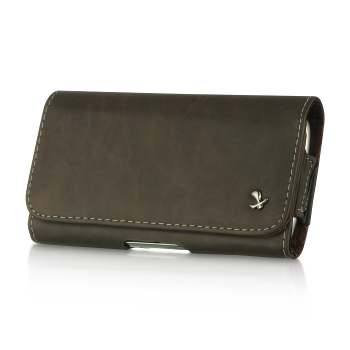 Phone Pouch For Samsung Galaxy Leather Wallet Belt Clip Pouc