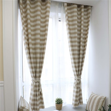 Blackout simple modern curtains for the Living room Ivory Grey  American Style the Curtains On the Window Blinds Drapes L325 facing the modern
