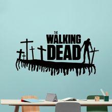 Walking Dead Wall Decal Movie Vinyl Sticker Popular Horror Poster Home Bedroom Decoration Art Mural AY1017