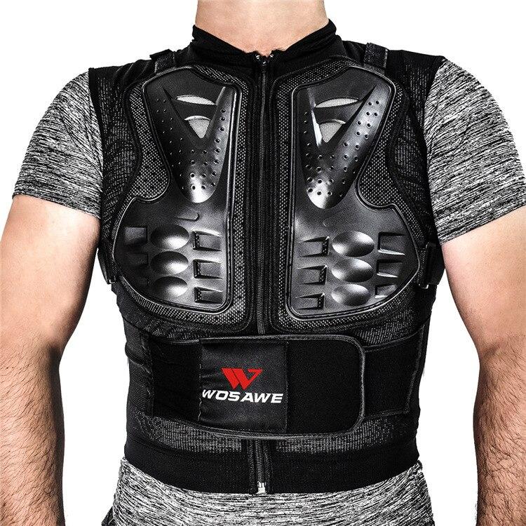 preto m 3xl spine peito protetor engrenagens jaqueta