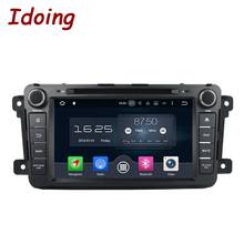 Idoing 2Din Android6.0/7.1 For Mazda CX9 Car DVD Player 8″GPS Navigation 2G+16G/32G Phone Link Bluetooth RDS Car Radio Fast Boot