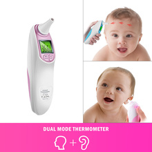 Ear and Forehead Thermometer Professional Precision Infrared Digital for Baby Children Adult Medical