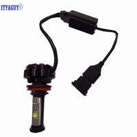 ITYAGUY Car LED Headlight 72W 12V 6000K 7600LM V18 H1 H3 880 881 H27 H7 H11