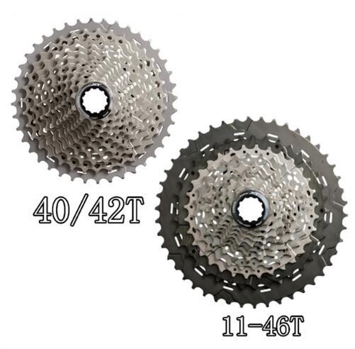 SHIMANO Deore XT CS M8000 Cogs Freewheel Mountain Bike MTB 11 Speed M8000 Cassette Sprocket 11-40T 11-42T 11-46T