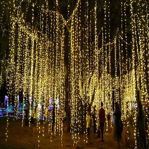 Lighting Of Christmas Tree 2014: 4pcs 50m 550led 100m 1050led LED String Light Long Wedding