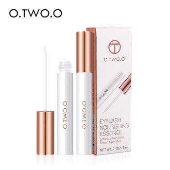 O.TWO.O Eyelash Growth Serum Moisturizing Nourishing Essence For Eyelashes Enhancer Lengthening Thicker 3ml
