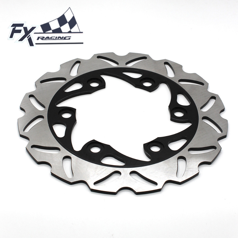 FX Stainless Steel Motorcycle 230mm Fixed Rear Brake Disc Rotor For KTM DUKE 125 200 390 DUKE 2013 2014 2015 Moto Accessories for ktm 390 duke motorcycle leather pillon passenger rear seat black color