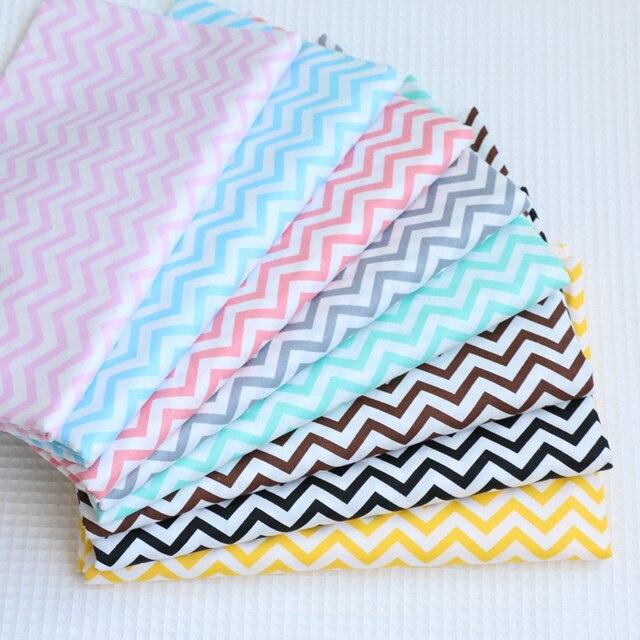 100% Baumwollgewebe Wellenförmige druckgewebe Tuch für Nähen ...