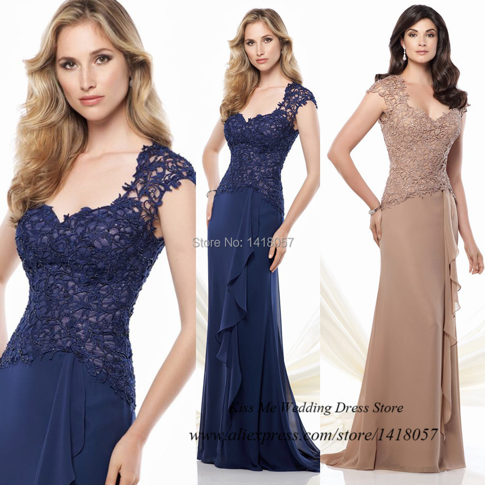 Blue And Champagne Dress | Weddings Dresses