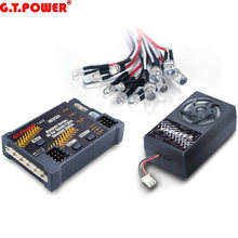 G. t. power Bluetooth Version RC Auto Motor Sound Simulierte System/Lichter Simulierte System Für RC Auto Axial SCX 10 TRX4(China)
