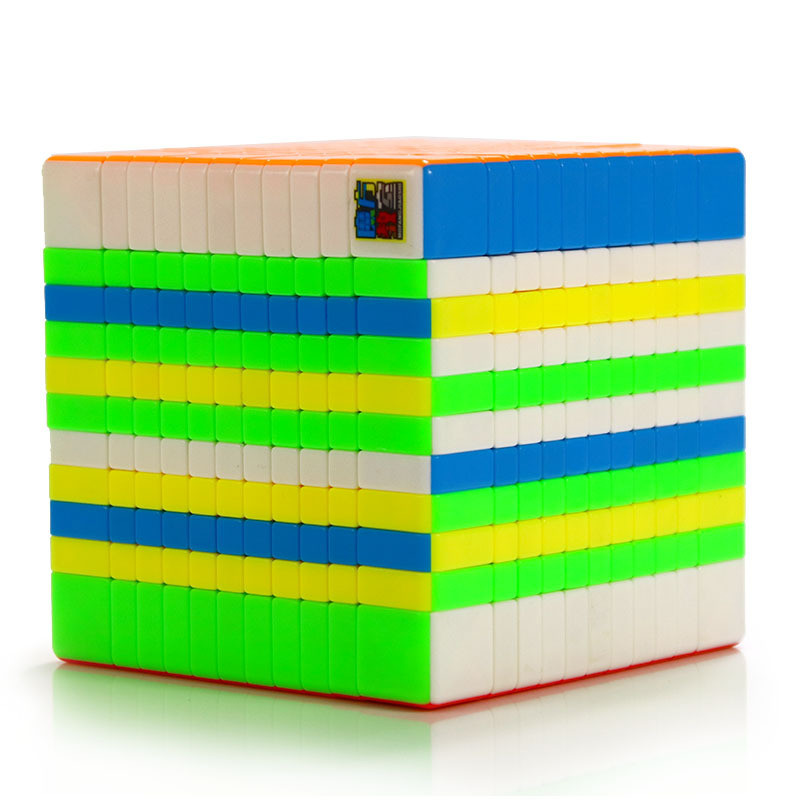 Moyu Meilong 11x11x11 bez naklejki Twist prędkości konkurs zabawki Magico Cubo 11x11 magiczna kostka zabawki edukacyjne prezent w Magiczne kostki od Zabawki i hobby na  Grupa 2