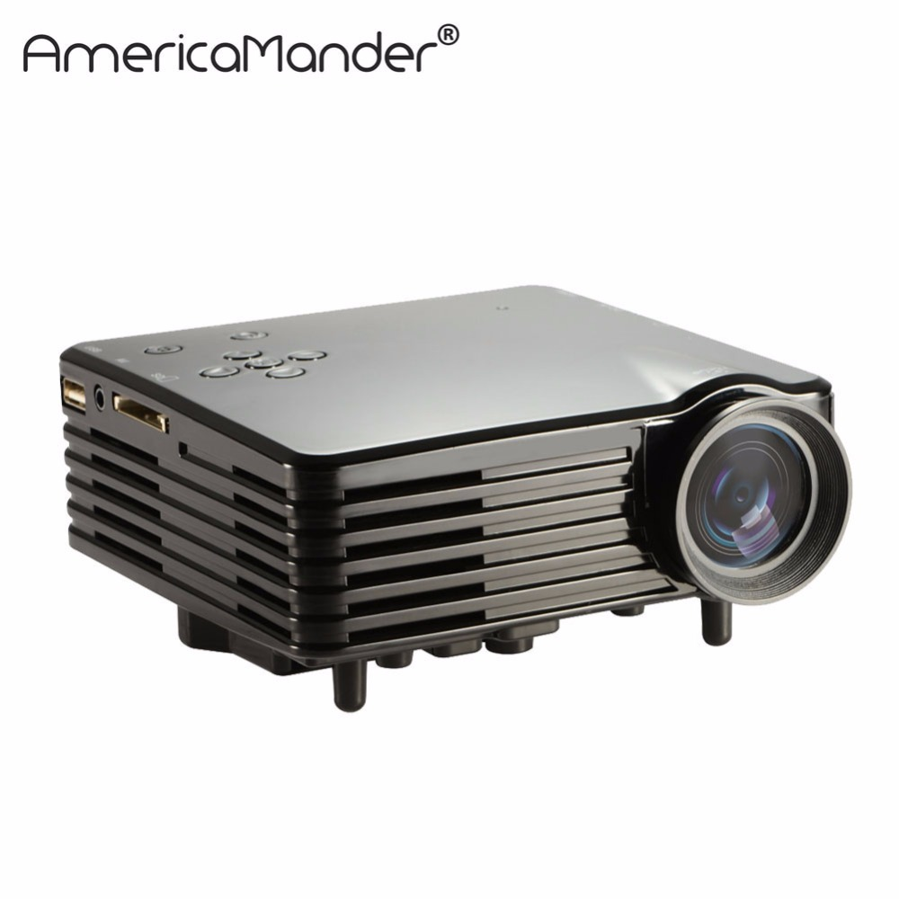 7500lm Hd Home Theater Multimedia Lcd Led Projector 1080: HD Multimedia 3D LED Mini Home Theater LCD Game Projector
