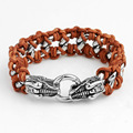 Proudly made in China Hand jewelry Wrist brand dragon head bracelets for men