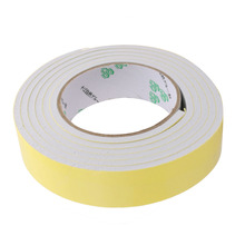Uxcell 35mm Width 5mm Thickness EVA Single Side Sponge Foam Tape 2 Meters Length White, Yellow 1PCS Hot Sale
