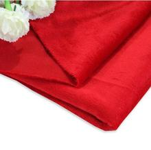 48cm*160cm Short plush crystal super soft plush fabric For Sewing DIY Handmade Home Textile Cloth For Toys Plush Fabric DIY cheap 50160