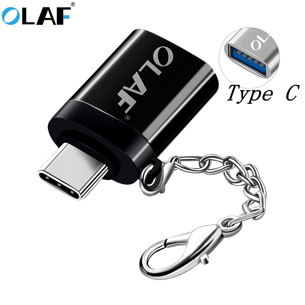 Olaf OTG Type C/USB OTG Adapter USB Type C Typec Adaptador USB Type-c To USB 3.0 OTG Adapter For Xiaomi Huawei Samsung S10 S9