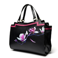 Maihui women leather handbags high quality woman shoulder bags 2017 new national cowhide real genuine leather casual tote bag