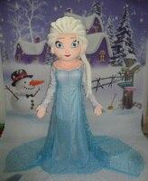 Hot Sprzedaż Sprzedaż Anna Elsa Maskotki Kostium Księżniczka Elsa Kostium Maskotki Kostium Fancy Dress Party Kostium Karnawał Kostium