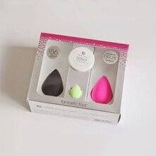 makeup sponge beauty powder puff blender sponge esponja maquiagem cosmetic puff 4 pcs Latex free make up sponge original packing
