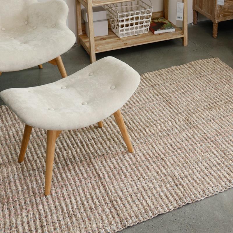 Haute en trois dimensions flw couleur design tessel bord coton zone tapis pour chevet salon tapetes para casa sala tapis salon - 2