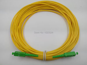 Image 1 - Оптоволоконный соединительный кабель SM SX, ПВХ, 3 мм, 50 метров