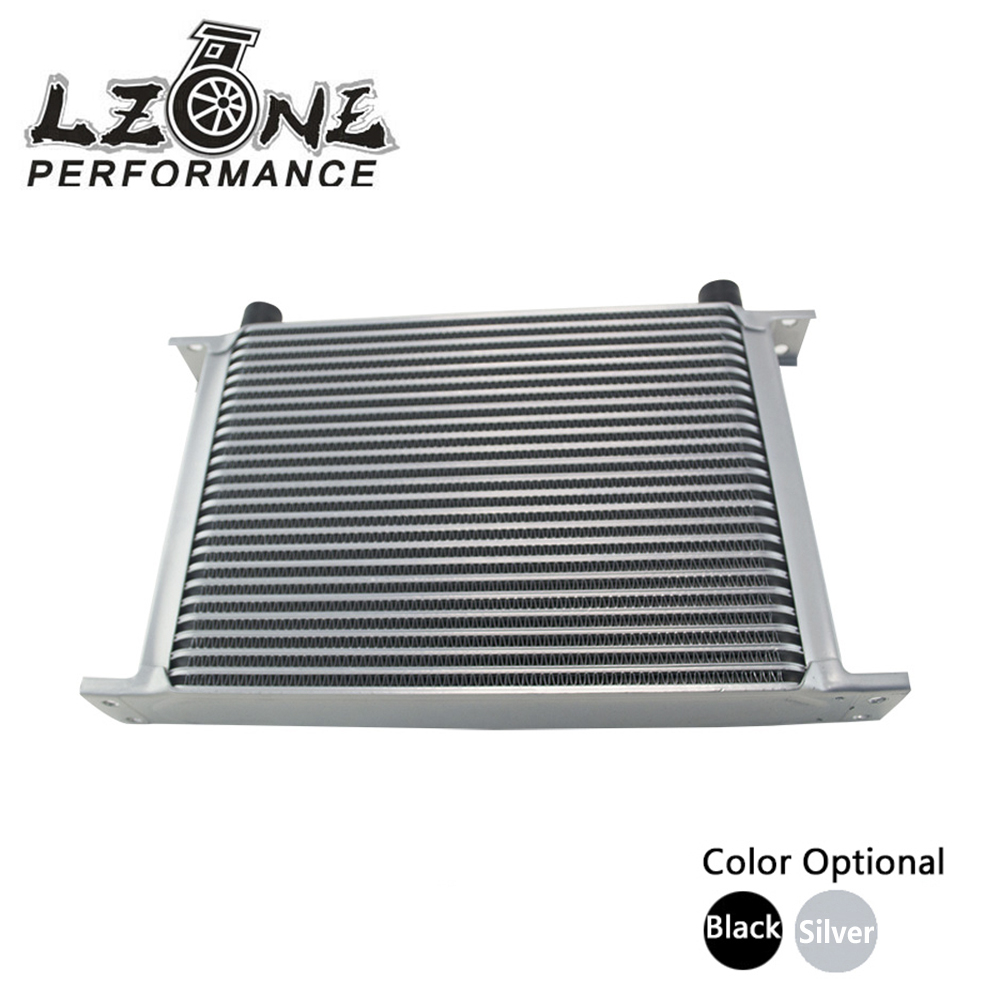 LZONE RACING - 25 ROW AN-10AN UNIVERSAL ENGINE TRANSMISSION OIL COOLER JR7025 vr racing 16 row an 10an universal engine transmission oil cooler vr7016 2