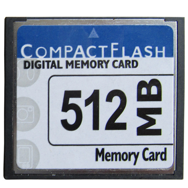 5pcs 512MB CompactFlash CF Memory Card With Pcmcia Card Adapter