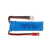 Free shipping 3pcs font b Battery b font 7 4V 500mAh 20C Lipo font b battery