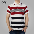 Striped Polo Shirt Fashion Men 2017 Summer Short Sleeve Classic Polo's Turn-down Collar Polos Hombre Men's Casual Brand POLO