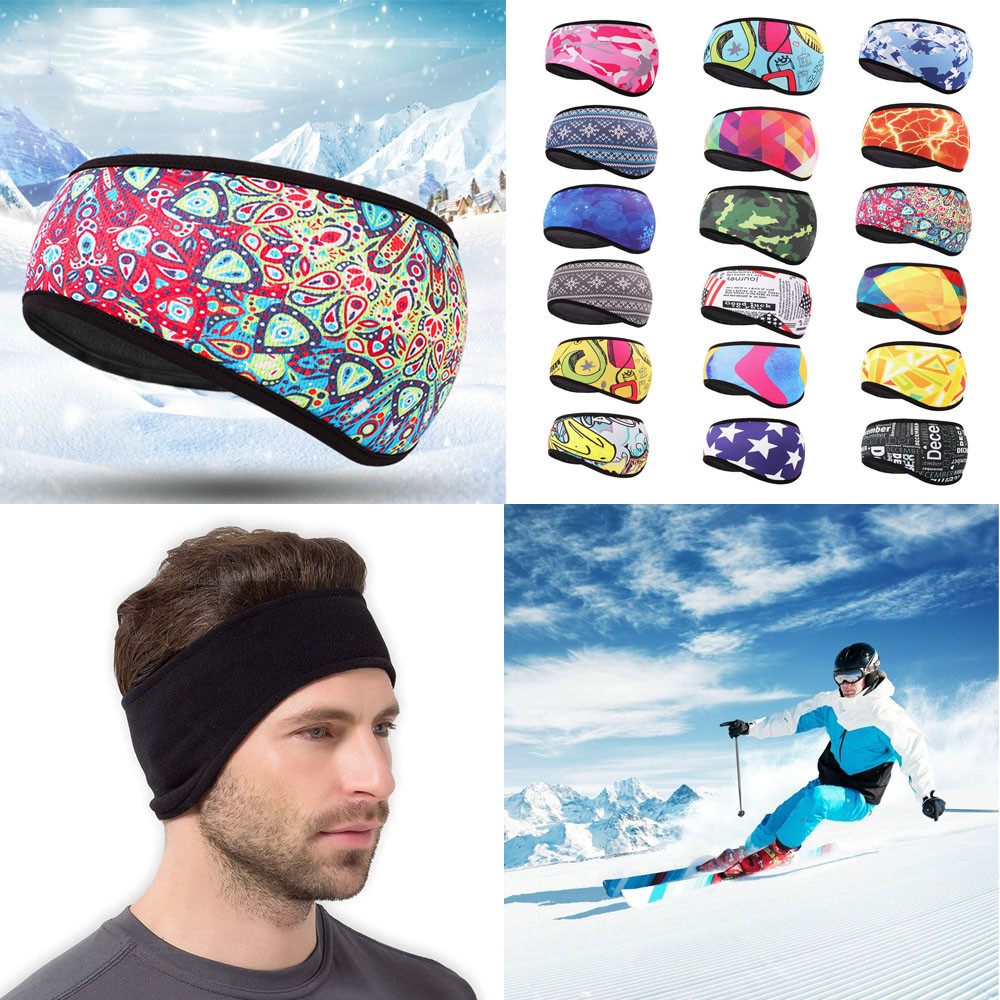 2018 New Unisex Winter Warm Earmuffs Hat Sports Cycling Ski Fleece Ear Protect Headband #NE1029