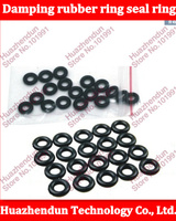 2000pcs High Quality Black rubber damping rubber ring seal ring gasket conditioning type O coil diameter M6 6*10*2MM