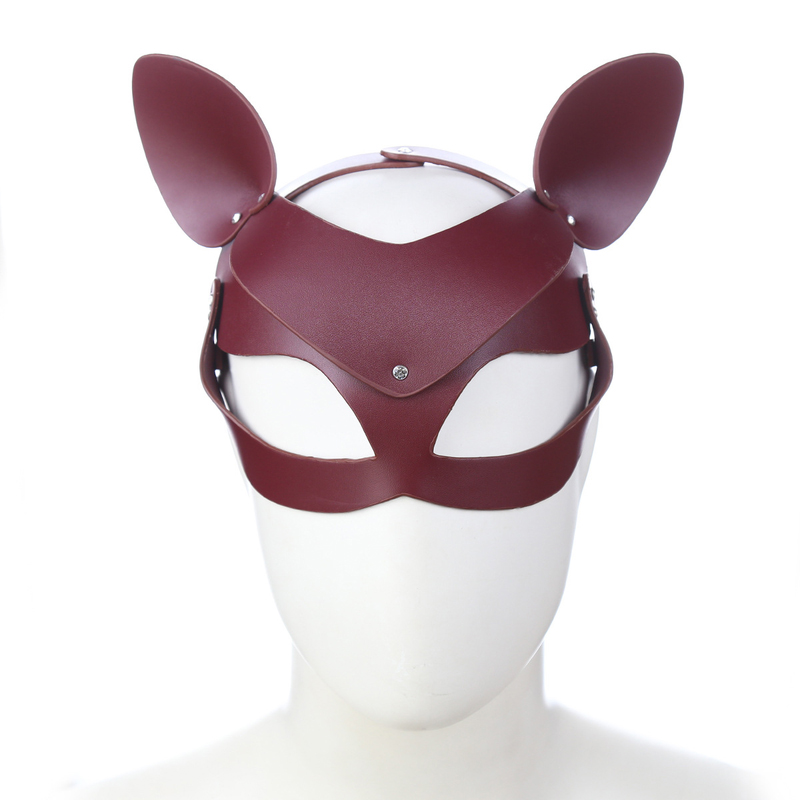 Adult Fox Mask Sexy Toy Masquerade Halloween Christmas Party Mask Make up Cosplay