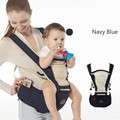 Breathable Baby Carrier Sling with Waist Stools Toddler Kangaroo Backpack Carrier Hipseat Baby Care Activity&Gear Product 0-36M