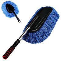 Car Styling 2pcs Car Cleaning Wash Brush Large Microfiber Telescoping Duster Dusting Tool Td1031 Dropship