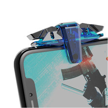 2 Pçs/set L1 R1 Atirador Dispara PUGB Controlador Gamepad Joystick Botão de Fogo Para IPhone Android Telefone Moible Acessórios Do Jogo