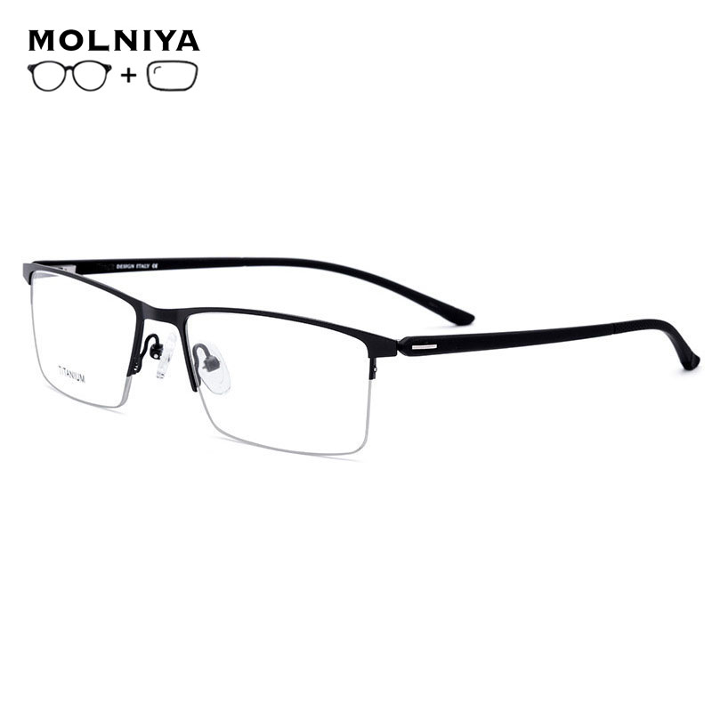 2019 TR90 <font><b>Men</b></font> <font><b>Prescription</b></font> <font><b>Glasses</b></font> Classic Clear Optical Myopia Anti Blue Photochromic <font><b>Progressive</b></font> <font><b>Prescription</b></font> Spectacles image