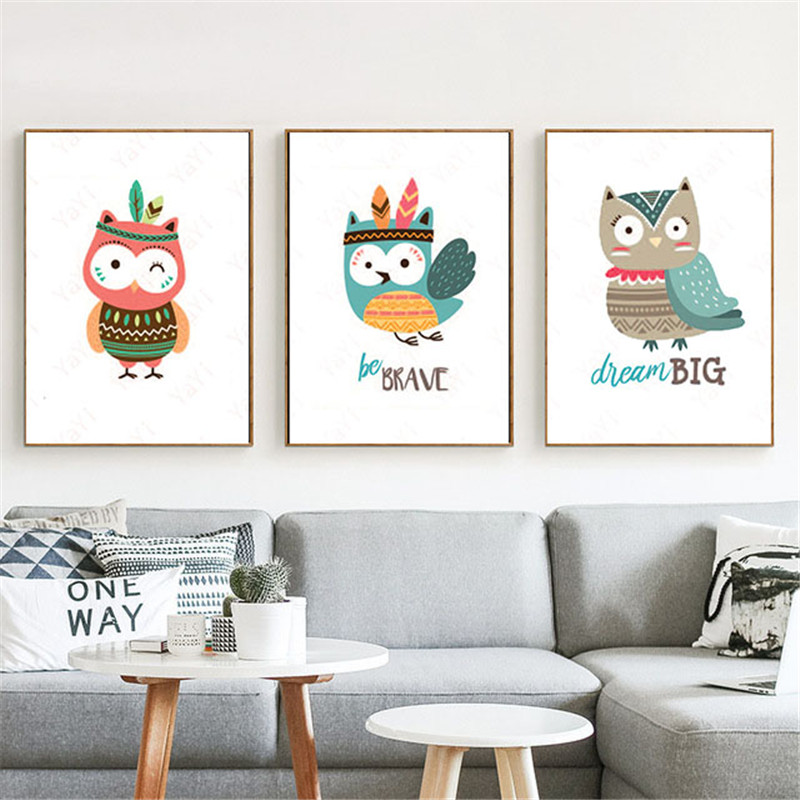 Bedroom Art Supplies: HAOCHU House Office Bedroom DIY Painting Lovely Bird