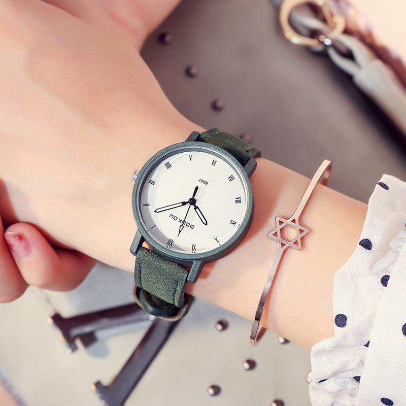 Fashion Brand Women's Watches Fashion Leather Wrist Watch Women Watches Ladies Watch Clock Mujer Bayan Kol Saati Montre Feminino