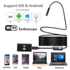 SANNCE 8mm 720P Wifi Endoscope Waterproof Inspection Borescope Camera For Android And IOS Smart Phone Computer