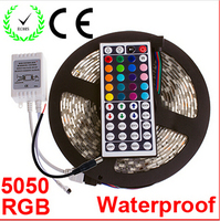 5050 RGB Led Strip Waterproof 5M 300 LED Tape Luminaria Luz 12V Car Home Ribbon 44