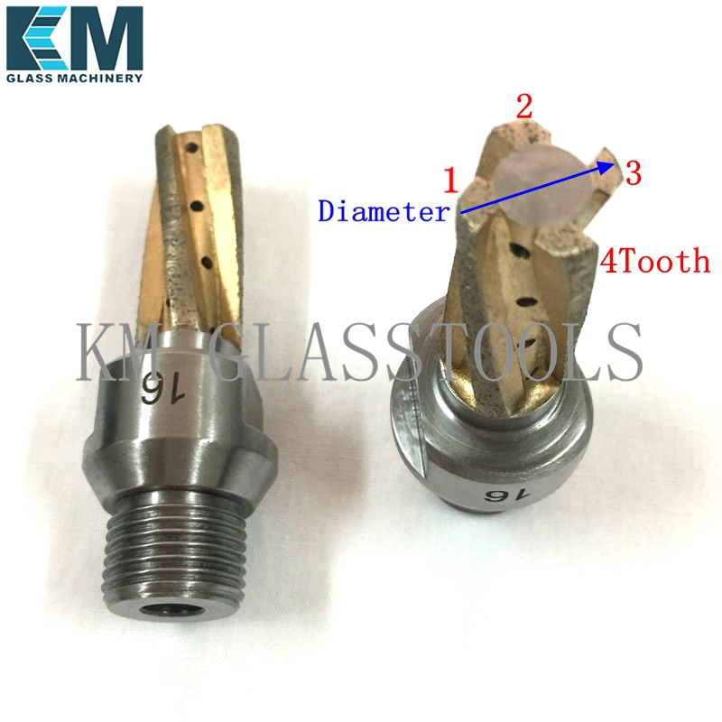 KM Brand High Quality Milling cutter CNC Tools Diameter 8 10 12 14 16 18 20mm