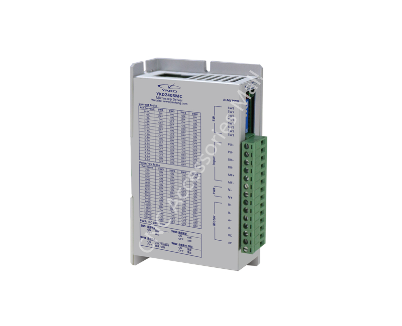 цена на YAKO driver 2 phase step drive 42/86 series stepper motor driver YKD2405MC DC20-50V 4.5A Driver cnc router parts