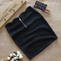 Spring Ladies Stretch Cotton Bag Hip Skirt A Korean Version Of The A Word Bust Skirt