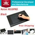 Горячие Продажи Huion H610 PRO Цифровой Таблетки Дети Планшет Искусство рисунок Дизайнер Графики Таблетки Портативных ПК Для Windows Mac OS Черный