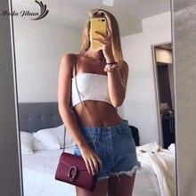 c668502e1f08f Moda Jihan Cotton Women Tight-Fit Tube Tops Crop Top Bra Ladies Lingerie Strapless  Women