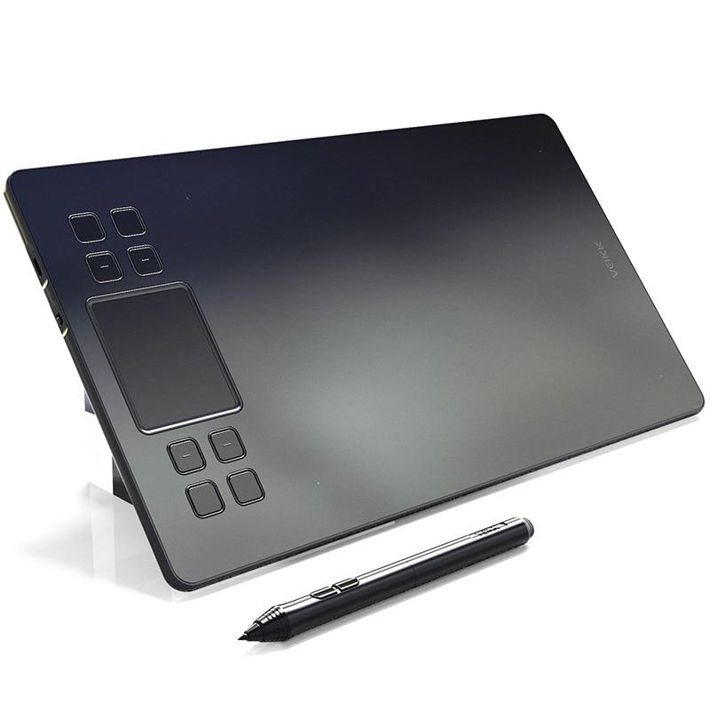 VEIKK A50 améliore graphique numérique dessin tablette électronique Art Board 10x6 pouces 8192 niveaux pas besoin de charge stylo tablette